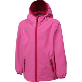 Color Kids Barkin Softshell Jacket Mädchen pink heaven
